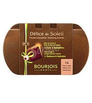 Bourjois Polvo compacto pieles morenas / bronceadas t14 1 ud