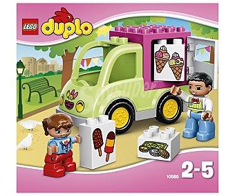 LEGO Juego de construcciones Duplo, el camión de los helados, 11 piezas, modelo 10586 1 unidad
