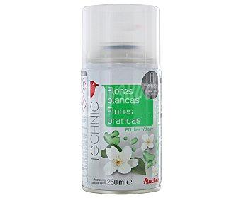 Auchan Recambio automático con esencia a flores blancas 1 unidad