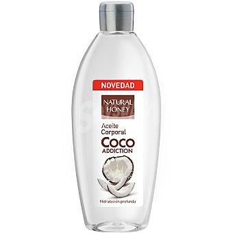 Natural Honey Aceite corporal Coco Addiction hidratación profunda Frasco 300 ml