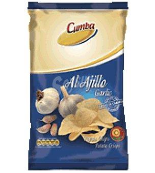 Cumba Patatas chips al ajillo 120 g
