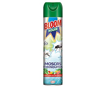 Bloom Insecticida hogar para moscas y mosquitos Spray 600 ml