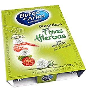 Burgo de Arias Queso blanco con finas hierbas 120 g