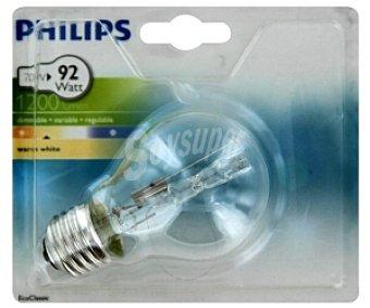 Philips Bombilla Halógena estándar Clara 70W E27 1 Unidad