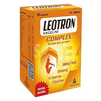 Leotron Complemento alimenticio con jalea real, ginseng, 12 vitaminas y 4 minerales 60 c