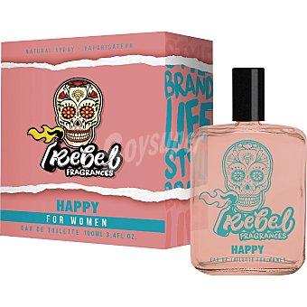 Rebel Colonia para mujer Happy 100 ml