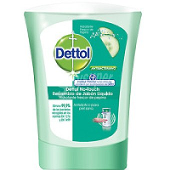 DETOLL No Touch Jabón de pepino 250 ml