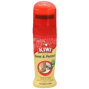 Kiwi Crema con autoaplicador para calzado de piel incolora 50 ml
