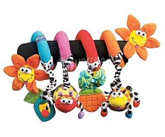 Playgro Espiral para silla de paseo de animales de colores