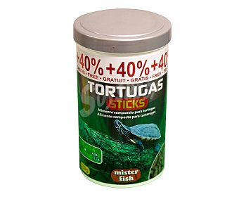 Mister fish Alimento completo para tortugas 350 gr