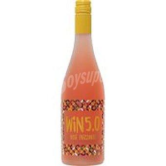 Win 5.0 Vino Rosé Frizzante Botella 75 cl