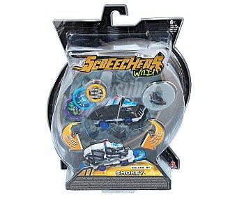 COLOR BABY Smokey Screechers Wild 2.3 transformable de vehículo de policía a bestia modelo Smokey, BABY.