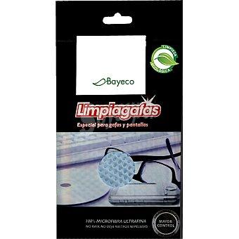 Bayeco Bayeta ecológica limpia gafas especial para gafas y pantallas Envase 1 unidad