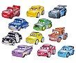 Surtido de coches en miniatura Micro Racers cars  Cars Disney