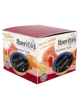 Iberitos Crema de Jamón York pack de 3x70 g