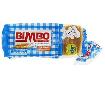 Bimbo Pan Molde Sandwich Grande 500g