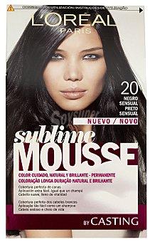 Sublime L'Oréal Paris Tinte negro sensual nº 200 caja 1 unidad 1 unidad