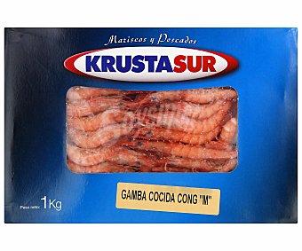 """Krustasur Gamba cocida congelada """"m"""",, 1 kilogramo"""