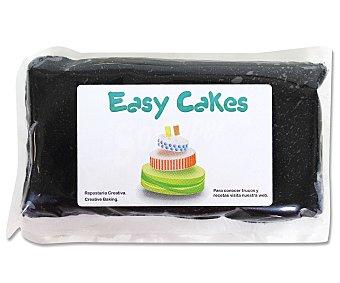 Easy cakes Pasta de azúcar de cobertura y modelage de color negro 250 gr