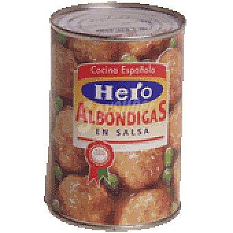 HERO albóndigas en salsa lata 430 g