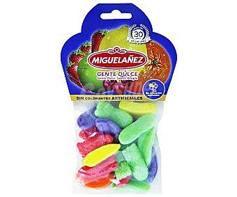 Miguelañez Gominolas blandas con forma y sabor a frutas Bolsa 150 g