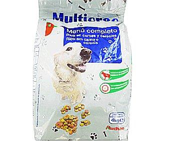 Auchan Comida Seca para Perro Multicroc Bolsa de 4 Kilogramos