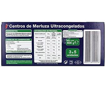 Auchan Centros de merluza 400 gramos