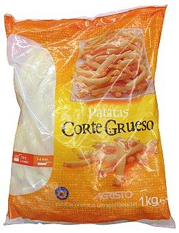Agristo Patatas congeladas corte grueso clasicas Paquete 1 kg