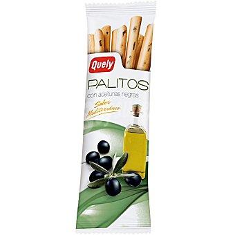 Quely Palitos con aceitunas negras sabor mediterráneo Bolsa 50 g