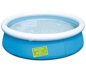 BESTWAY Piscina autoportante infantil redonda splash&play, 152,5x38 centímetros, 689.6 litros 1 unidad