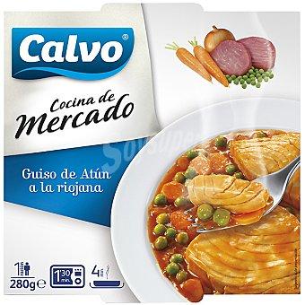 Calvo Filete atún la riojana plato microondable 280 g