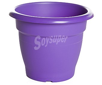 VAN Maceta plástica tipo campana de color violeta 1 Unidad