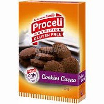 Proceli Cookies de cacao Caja 225 g
