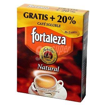 Fortaleza Café soluble natural Caja 10 sobres