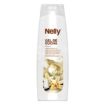 Nelly Gel de ducha de vainilla 750 ml