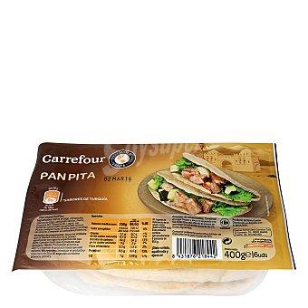 Carrefour Pan pita 400 g