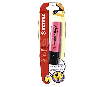 Stabilo Marcador fluorescente, punta biselada con grosor de trazo de 2 a 5 milímetros y tinta con tecnología antisecado rosa 1 unidad