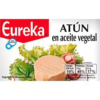 Eureka Atún en aceite vegetal Envase 120 g neto escurrido