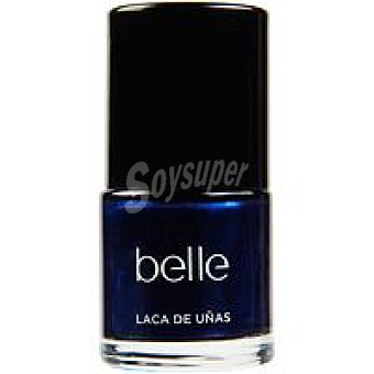 belle & MAKE-UP Laca de uñas 14 Noir Blue 1 unidad