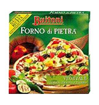 Pizza f.di pietra vegetale 370 GRS
