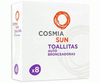 COSMIA Toallitas Autobronceadoras 8u