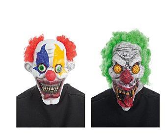 Llopis Máscara de cara completa Halloween, Payaso terrorífico Máscara payaso
