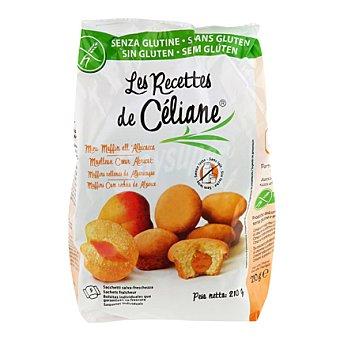 Les Recete de Céliane Magdalenas rellenas de albaricoque sin gluten 210 g