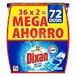 Detergente Duo-Caps Total 72 dosis Dixan