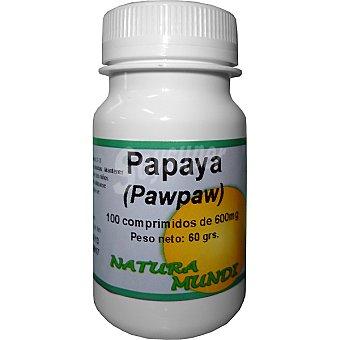 NATURA MUNDI Papaya Envase 100 comprimidos