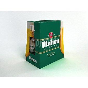 Mahou Cerveza clásica Pack 6x25 cl