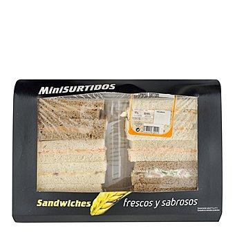 Surtido de mini sandwiches Bandeja de 625 g