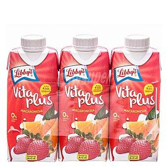 Libby's Vitaplus fresa/naranja Pack 3x33 cl