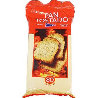 Hipercor pan tostado 80 rebanadas Paquete 720 g