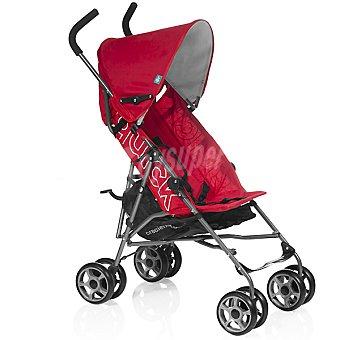 INNOVACIONES MS Quick silla de paseo de fácil manejo, segura y confortable en color rojo